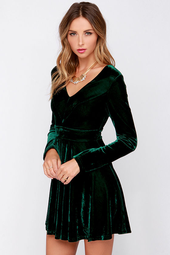 Contrast Tie Up Waist Skater Dress available in Dark Green or Teal. Buy cheap Dresses for just £5 on bestsupsm5.cf