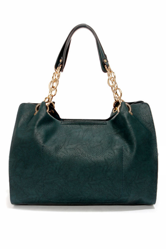 Mile a Minute Dark Teal Blue Handbag at Lulus.com!