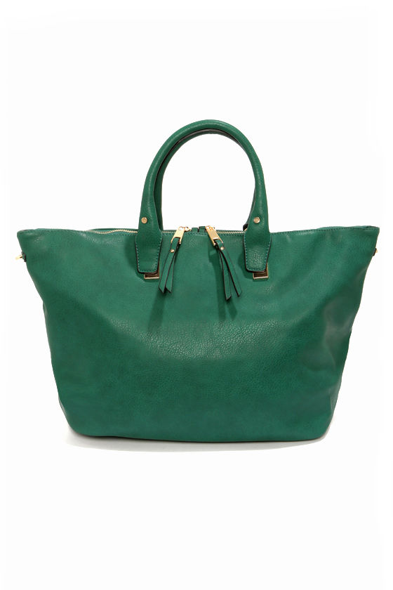 Spaciously Awaiting Green Handbag at Lulus.com!
