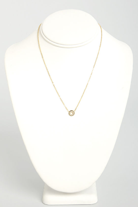 Hanging Around Gold Necklace at Lulus.com!