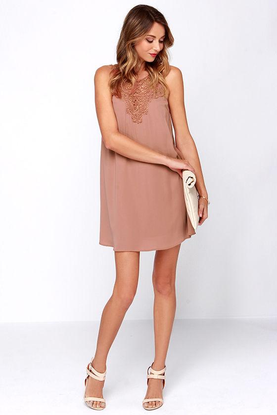Rose color dress shoes