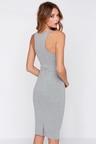 Cute Grey Dress Midi Dress Bodycon Dress Cocktail Dress 44 00