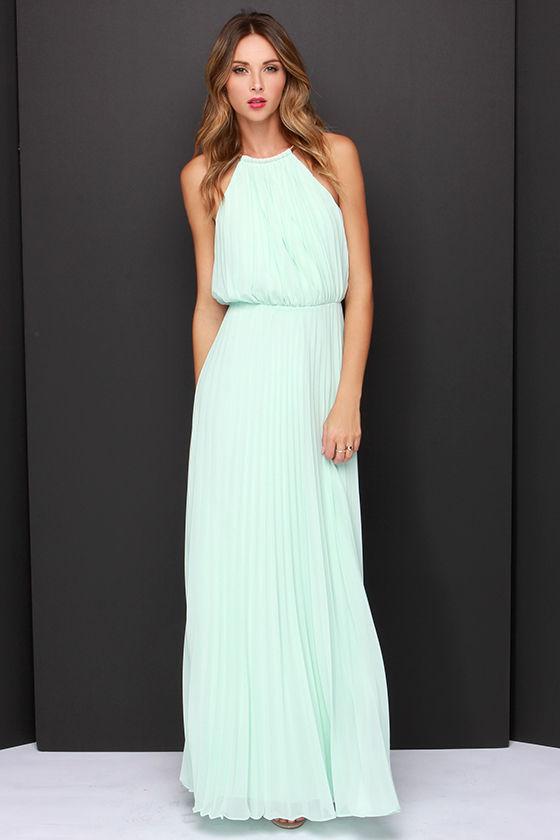 7be5ce1109 Bariano Melissa Dress - Mint Dress - Maxi Dress - $228.00