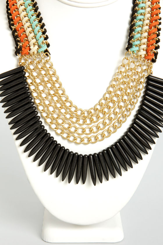 Tribe and True Layered Necklace at Lulus.com!