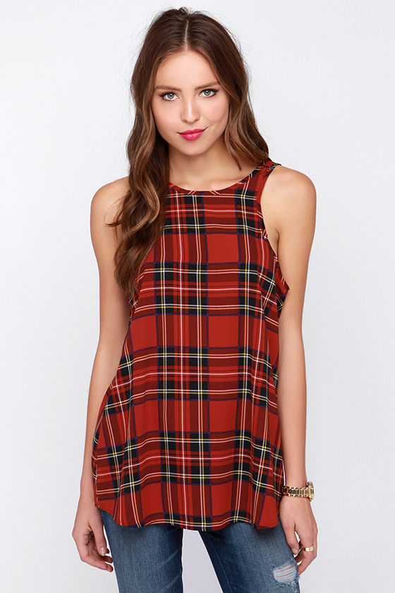Find great deals on eBay for red plaid top. Shop with confidence.