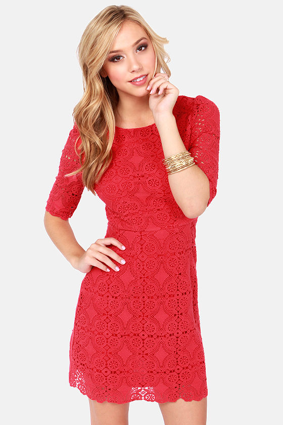 Images of Red Holiday Dresses Juniors - Reikian