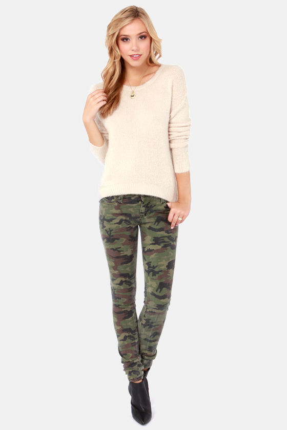 Best of Luxe Cream Sweater at Lulus.com!