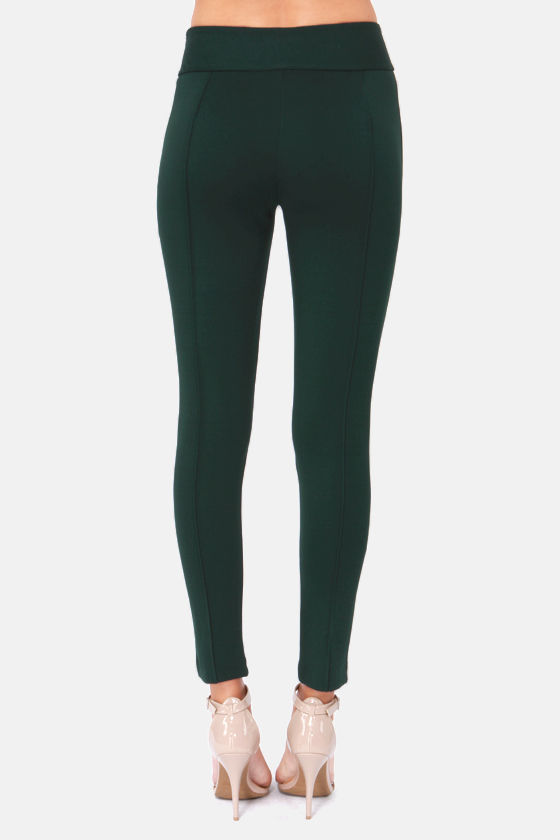 Darling Bethany Hunter Green Harem Pants at Lulus.com!