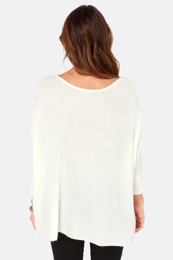 Lavish is My Command Ivory Sweater at Lulus.com!