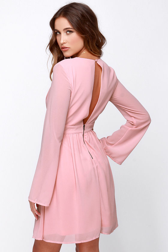 Find pink long sleeve dress at ShopStyle. Shop the latest collection of pink long sleeve dress from the most popular stores - all in one place.