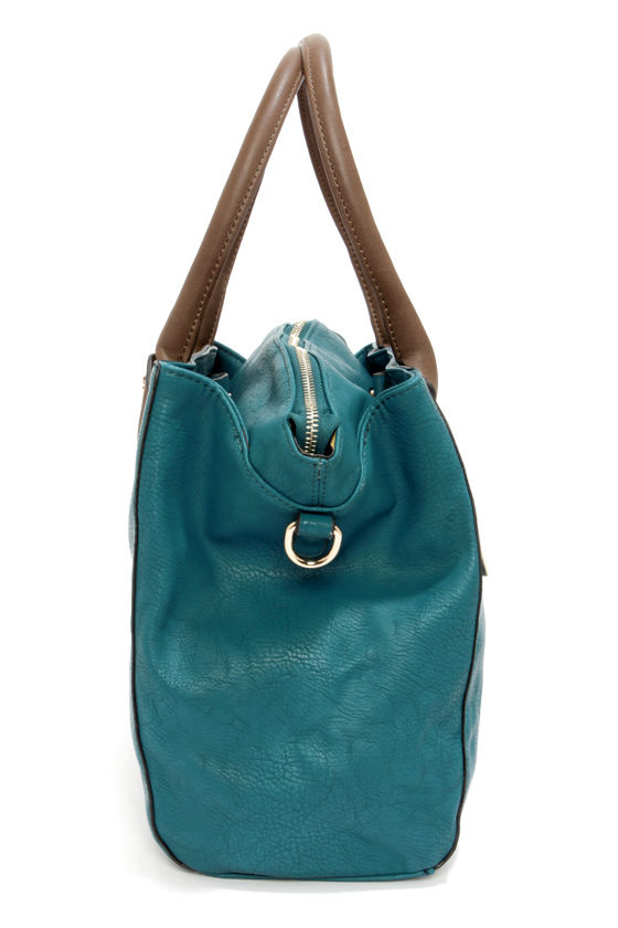Day In and Day Out Dark Teal Handbag at Lulus.com!