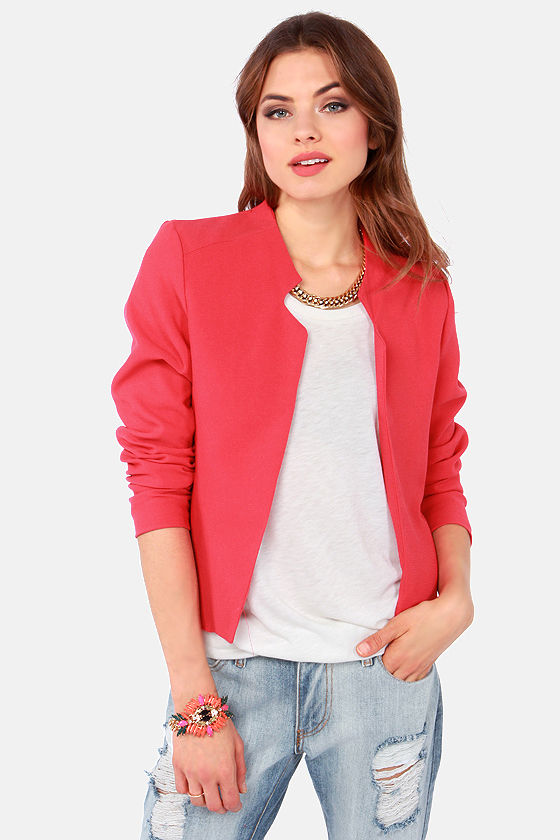Men's SB Zoom Blazer Low Vintage Coral/Fossil Sz $ 74 99 Prime. Nine West. Women's Plus Size Coral Printed Crepe JKT with 3/4 Folded Button Sleeve. from $ 92 46 Prime. Marc New York by Andrew Marc. Marc New York Ladies' Quilted Jacket. from $ 9 99 Prime. out of 5 stars Nine West.