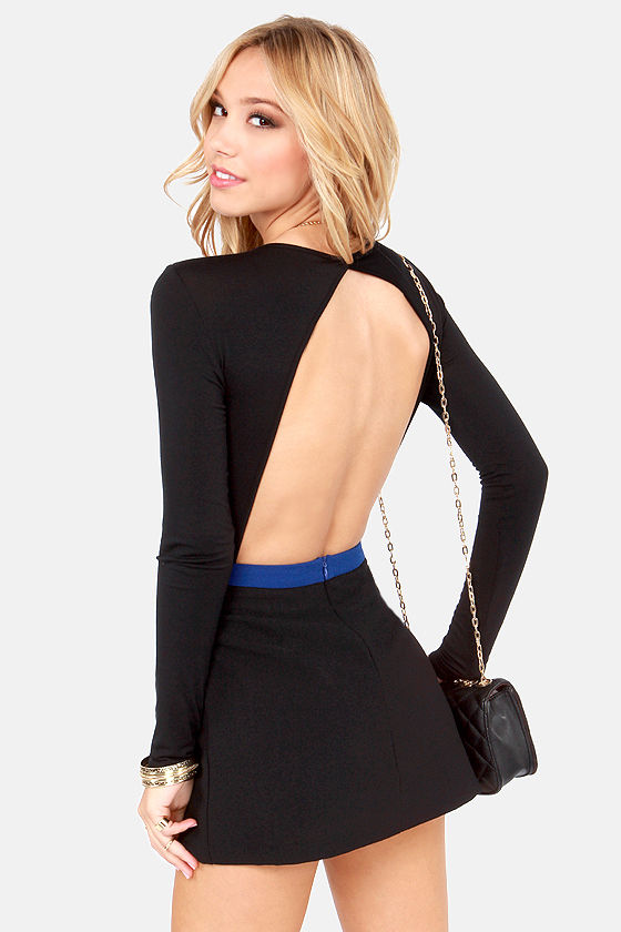 Rock Your Body Backless Black Bodysuit at Lulus.com!
