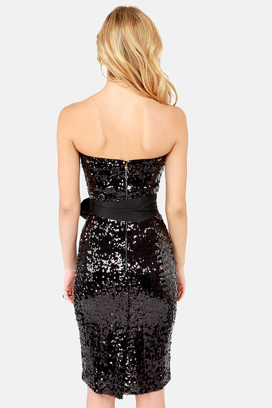 Blaque Label Imagine That Black Sequin Dress at Lulus.com!