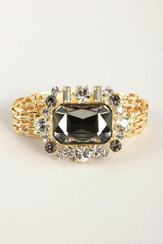 Sparkle Party Rhinestone Bracelet at Lulus.com!
