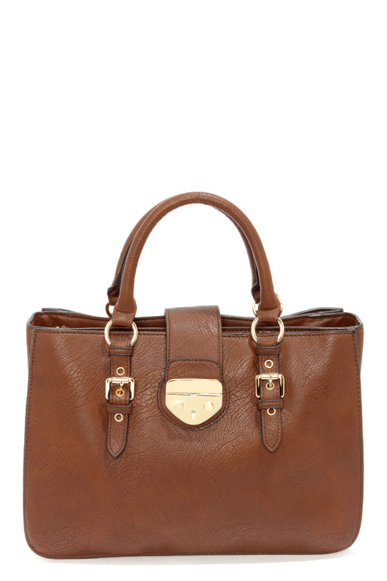 Bag It Up Brown Handbag at Lulus.com!