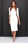 LULUS Exclusive We Built This Midi Ivory Midi Dress 25c10e0862