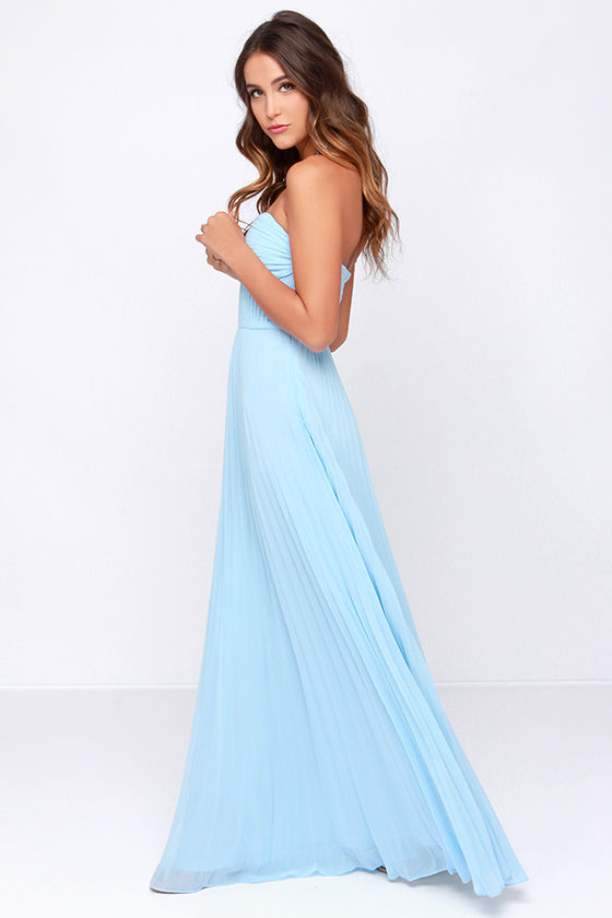 Light Baby Blue Dresses