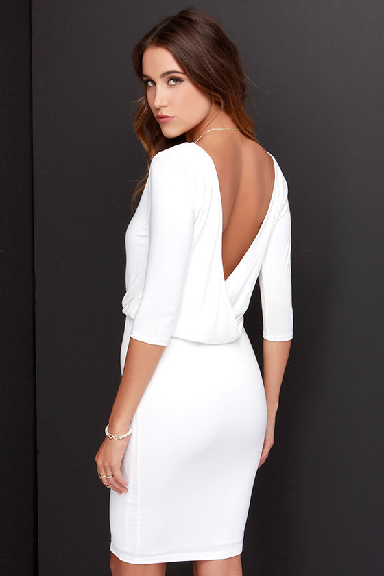 Cocktail Dresses Backless