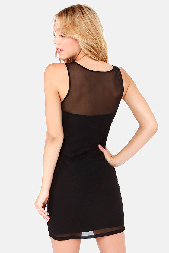 After the Sunset Black Sequin Dress at Lulus.com!