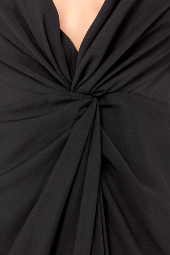 Keepsake Surrender Black Maxi Dress at Lulus.com!