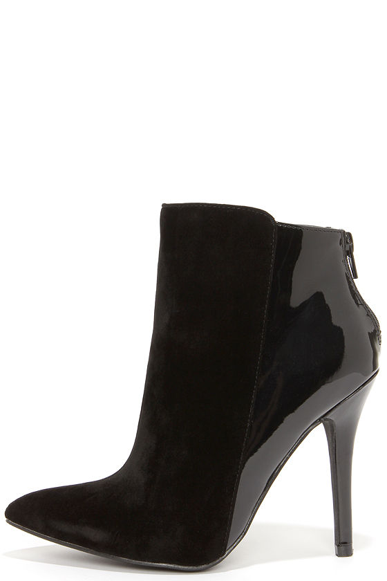 Pointed Toe Boots - High Heel Booties