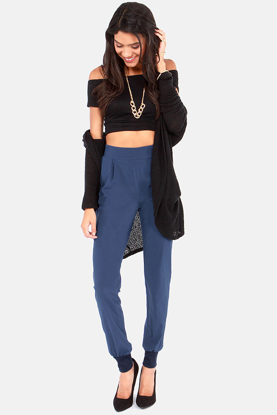 Now You're Walking! Blue Harem Pants at Lulus.com!