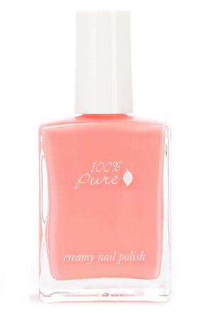 Pretty Coral Pink Nail Polish - Pink Nail Laquer - $12.00