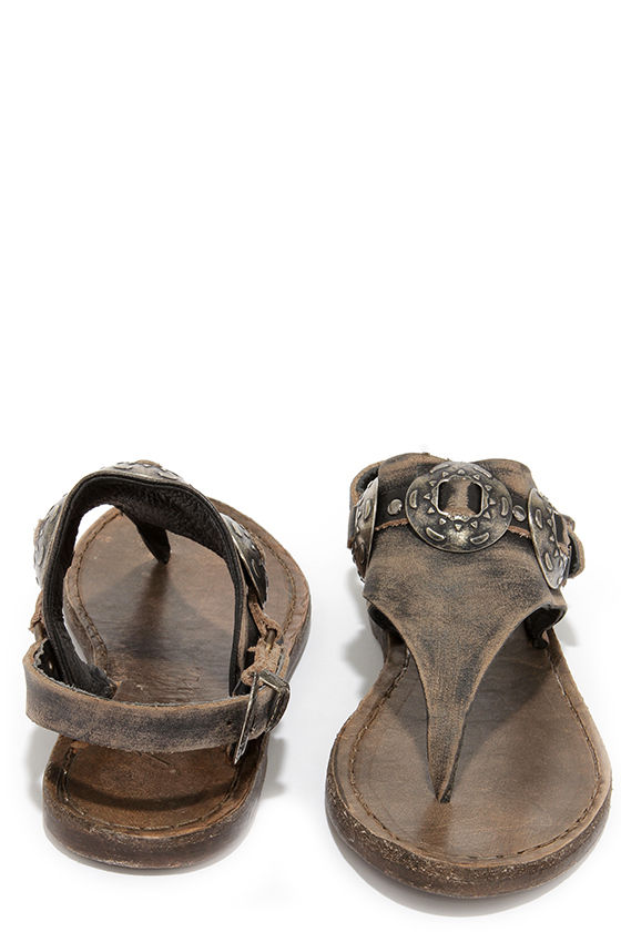 Cute Leather Sandals Thong Sandals Western Sandals