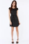 Cute Black Dress - Jacquard Dress - Rose Dress -  82.00 30a98370c