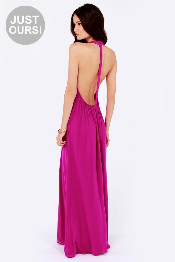 T back cocktail dress