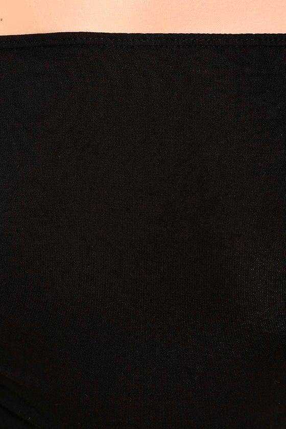 Upstage Black Off-the-Shoulder Top 6
