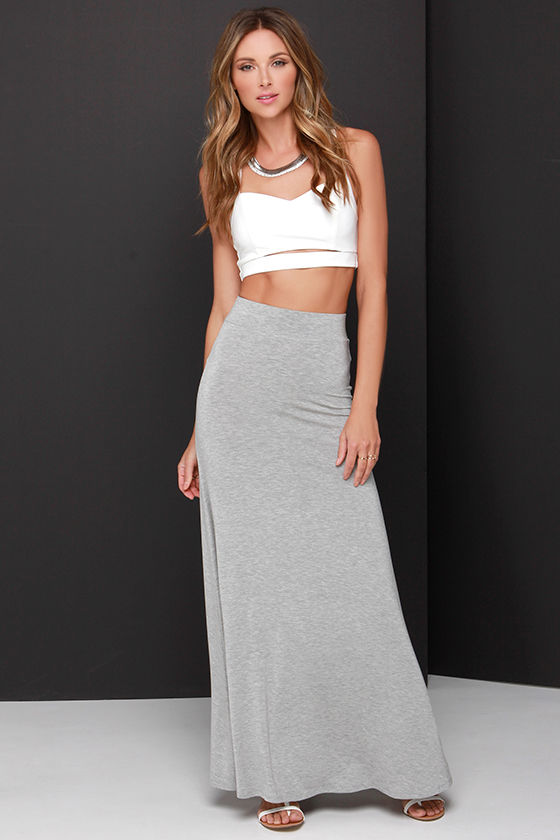 Secret's out babe! A tulle maxi skirt is the easiest way to deliver an effortless slay this season. Tuck a fun graphic tee in and throw on a leather jacket over it .