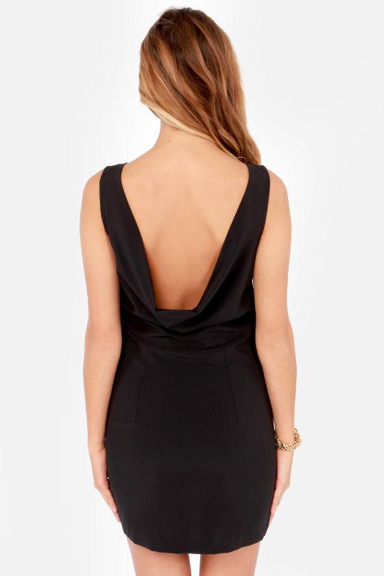 Lucy Love Celebration Black Sheath Dress at Lulus.com!