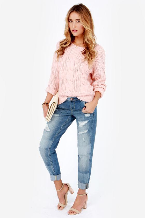 e7149b1c0b1 Dittos Charlie Jeans - Boyfriend Jeans - Distressed Jeans -  99.00