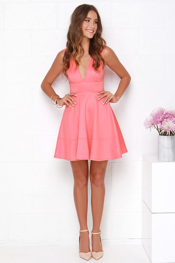 Pink Coral Dress