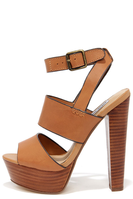 bcb603607755 Sexy Tan Heels - Platform Heels - Platform Sandals -  109.00