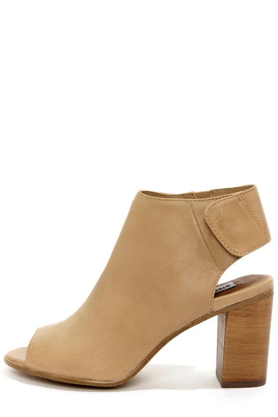 21390fa912f Steve Madden Nonstp - Peep Toe Booties - Ankle Boots - High Heel Boots -   99.00