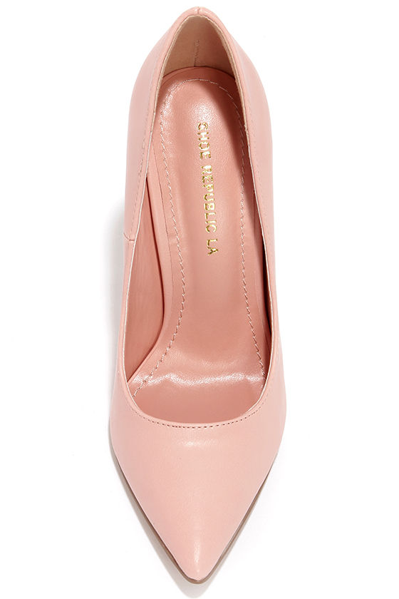 by far romy pump in blush suede. classic square toe pumps in blush pink italian suede, these shoes have a block heel, leather insoles and hand-crafted and hand-painted leather soles. professional clean. also available in nude suede, cream leather and black suede.