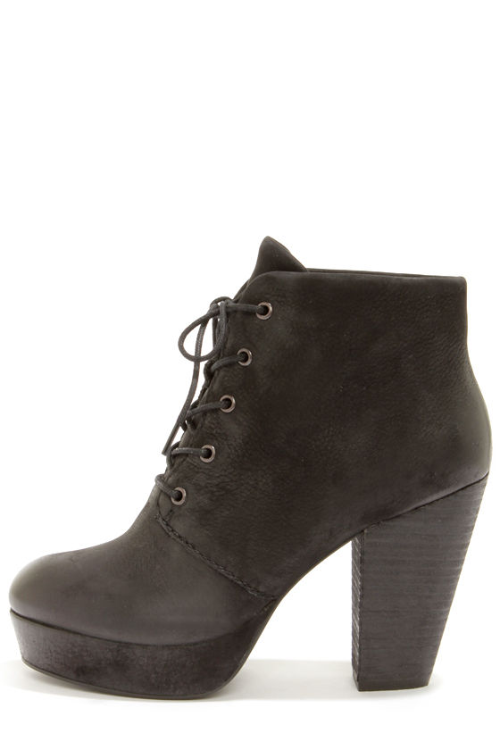 3789673c18a Steve Madden Raspy - Black Boots - Suede Boots - Ankle Boots -  139.00