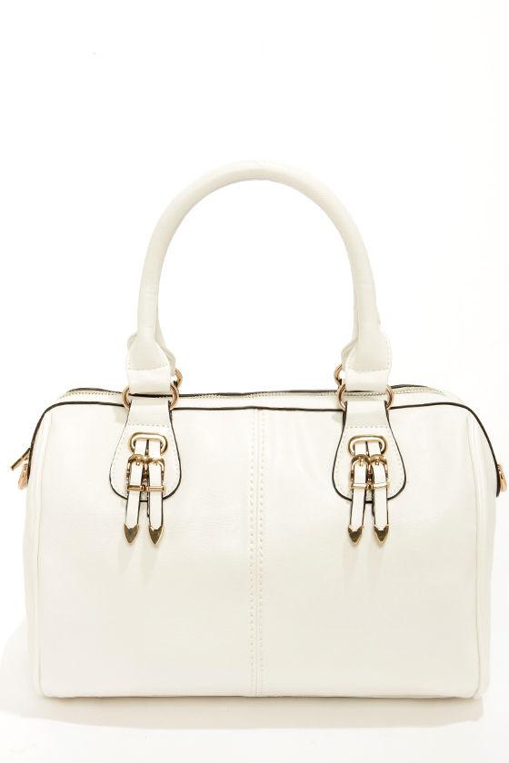 Bag of Tricks Ivory Handbag at Lulus.com!