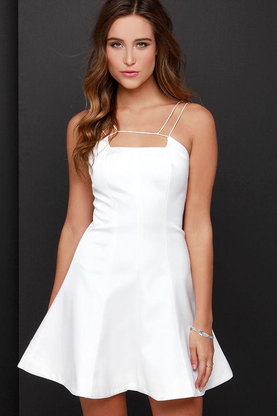 e2664aa51f Keepsake Mirror Image Dress - Ivory Dress - Fit and Flare Dress -  97.00