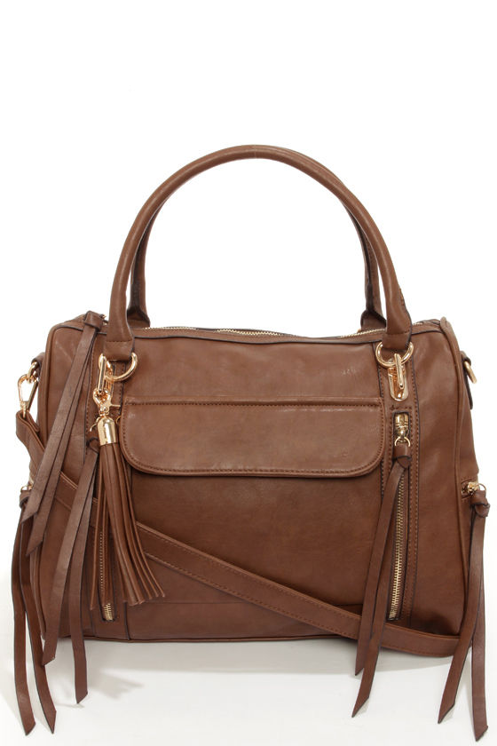 Tasseled Treasure Brown Tote by Urban Expressions at Lulus.com!