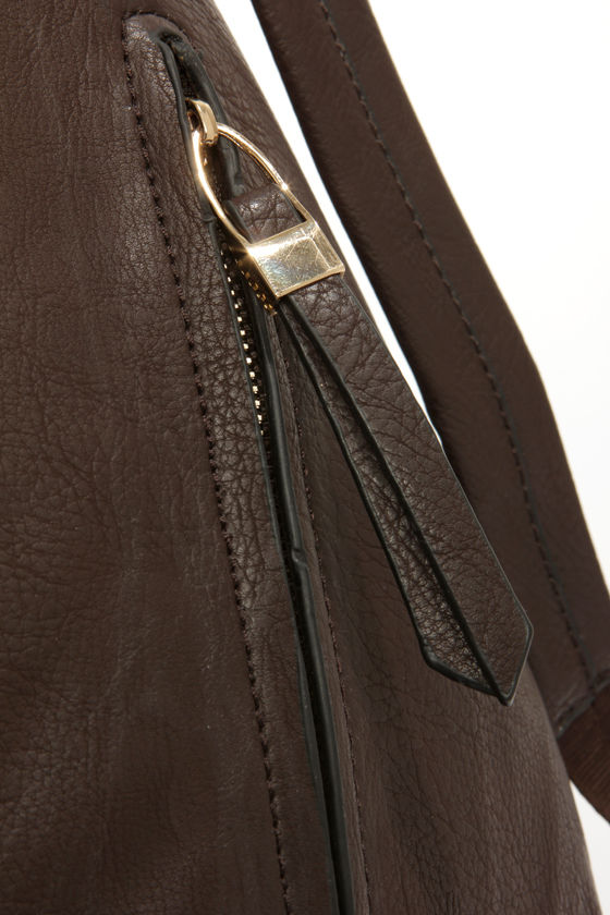 Pack the Code Dark Brown Backpack at Lulus.com!