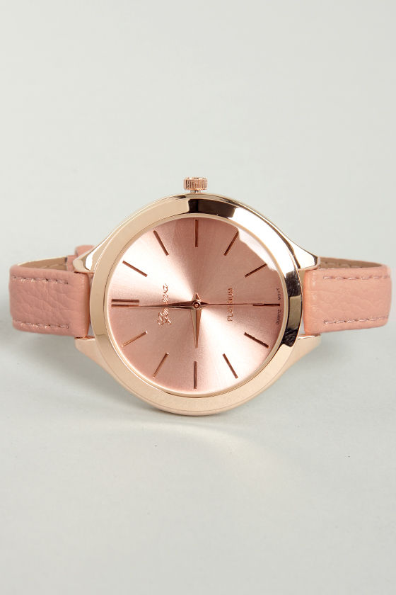 A Matter of Time Pink Watch at Lulus.com!