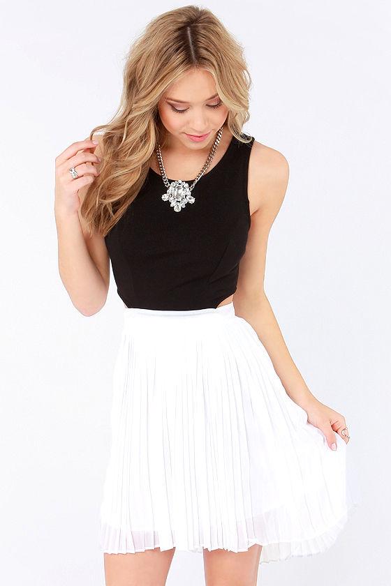 Jack by BB Dakota Jace - Black and White Dress - $72.00