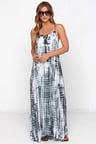 Maxi Dress Tie Dye Dress Grey Dress 58 00
