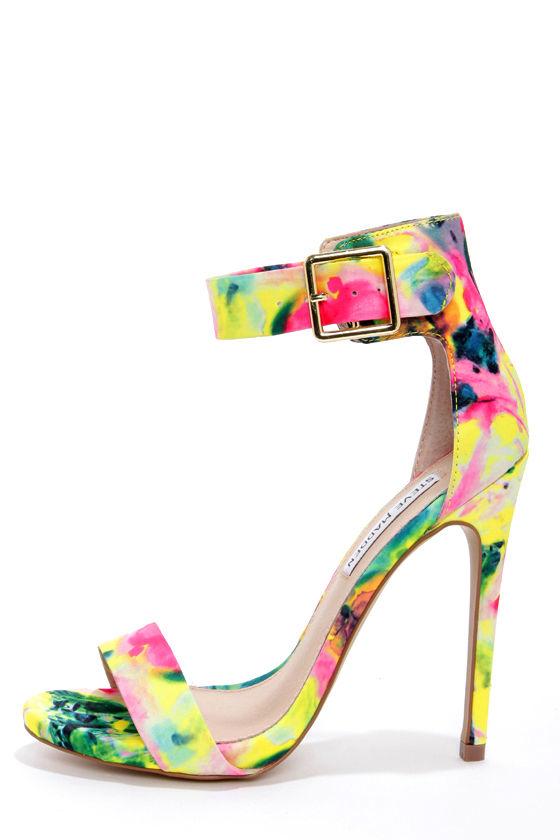 99a01caf1c6 Steve Madden Marlenee Floral - Ankle Strap Heels - High Heels -  99.00