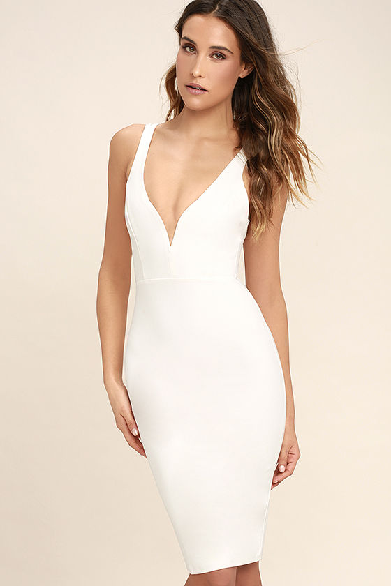 Gracefully Yours White Dress 1