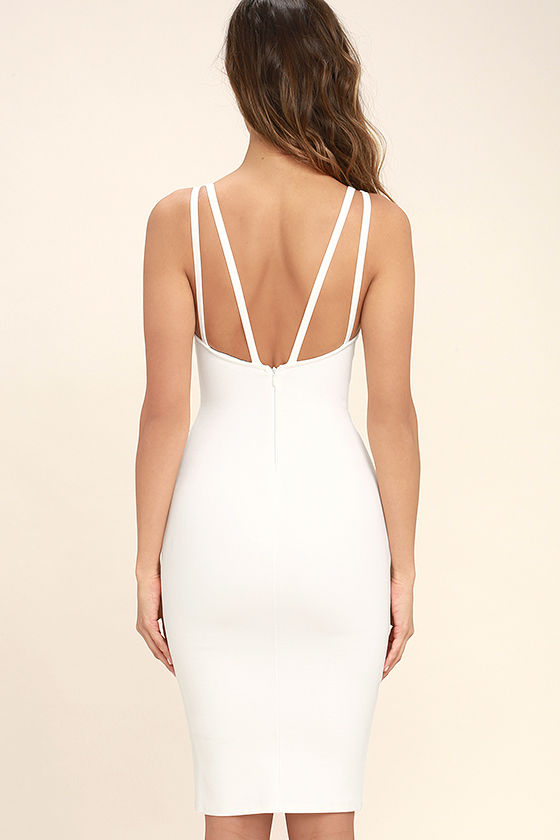 Gracefully Yours White Dress 4